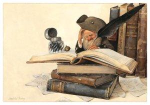 Carte Postale De Jean-Baptiste Monge, Écrivain