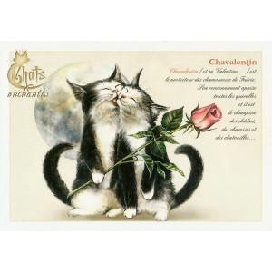 Carte postale Chavalentin de Séverine Pineaux