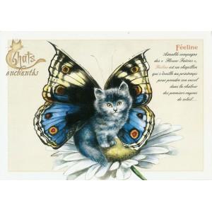 Carte postale Féeline de Séverine Pineaux