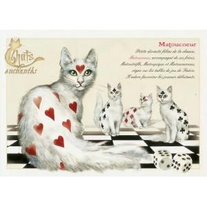 Carte postale Matoucoeur de Séverine Pineaux