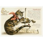 Carte Postale Chadivarius Chats Enchantés illustré par Séverine Pineaux