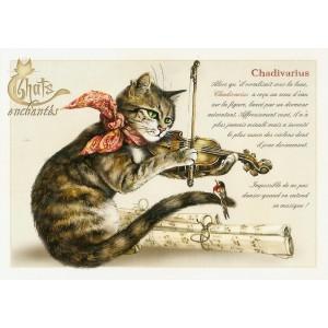 Carte postale Chadivarius de Séverine Pineaux