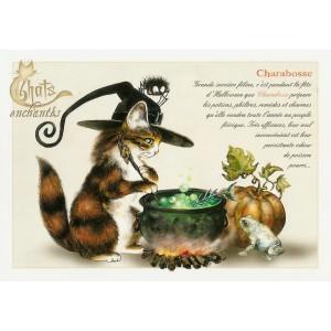 Carte postale Charabosse de Séverine Pineaux