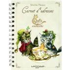 Carnet d'adresses Chats Enchantés illustré par Séverine Pineaux