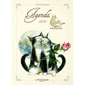 Agenda Chats Enchantés 2012 de Séverine Pineaux
