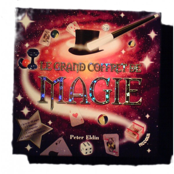 le grand coffret de magie de peter eldin 9782753018693. Black Bedroom Furniture Sets. Home Design Ideas