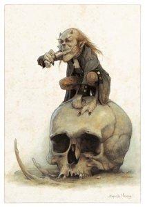 An Debrerien Askorn, carte postale de Jean-Baptiste Monge
