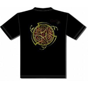 Tee-shirt Triskel Rouge de Sandrine Gestin