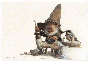 Carte Postale De Jean-Baptiste Monge, Petit Fileur