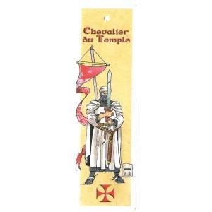 Marque page Chevalier du Temple de Bruno Bouteville