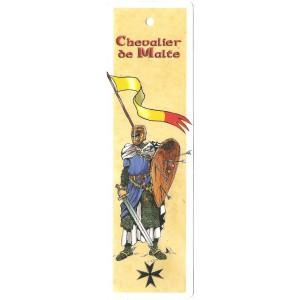Marque page Chevalier de Malte de Bruno Bouteville