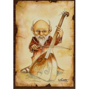 Carte postale La Complainte du Petit Peuple de Nicolaz Le Corre - La Musique des Fées