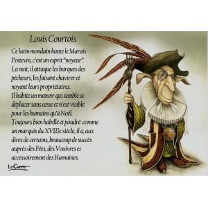 Carte postale Louis Courtois de Nicolaz Le Corre - Le Petit Peuple de Nicolaz