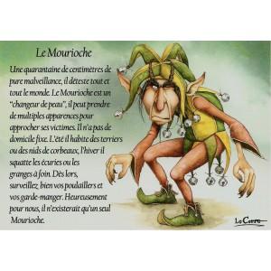 Carte postale Le Mourioche de Nicolaz Le Corre - Le Petit Peuple de Nicolaz
