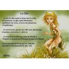 Carte postale Les Elfes de Nicolaz Le Corre - Le Petit Peuple de Nicolaz