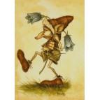 Carte postale Le Korrigan Amoureux de Nicolaz Le Corre