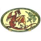 Autocollant Dragon  de Sophie Guilbert