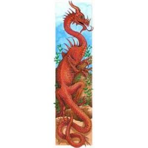 Marque page Dragon de Sophie Guilbert