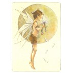 Carte postale Il m'aime… de Delphine Gache - Lily Rose Poddington