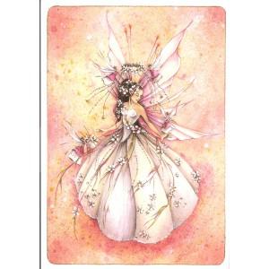 Carte postale La Mariée de Delphine Gache - Lily Rose Poddington