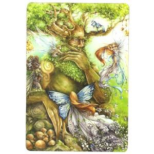 Carte postale L'arbre aux fées de Delphine Gache - Lily Rose Poddington