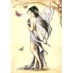 Carte postale Romantique de Delphine Gache
