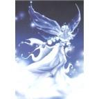 Carte postale Reine des Neiges de Delphine Gache