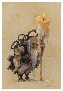 Petit Geôlier, carte postale de Jean-Baptiste Monge