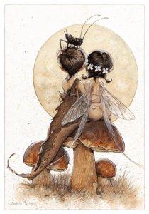 Carte Postale De Jean-Baptiste Monge, Amoureux