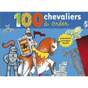 100 chevaliers à créer, livre d'activité pour enfants, Père Castor