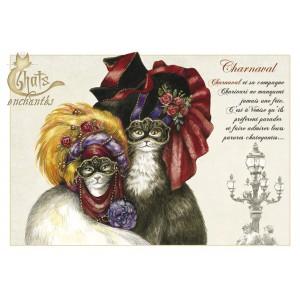 Carte postale Charnaval de Séverine Pineaux
