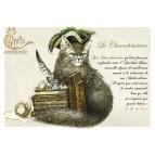 Carte postale Le Chacadémicien de Séverine Pineaux