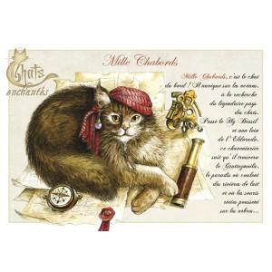 Carte postale Mille Chabords de Séverine Pineaux