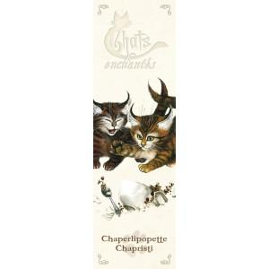 Marque page Chaperlipopette et Chapristi de Séverine Pineaux