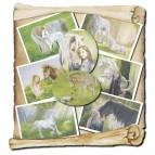 Lot de 8 cartes postales des Mondes Merveilleux de Sandrine Gestin