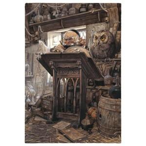 Scribbe, carte postale de Jean-Baptiste Monge