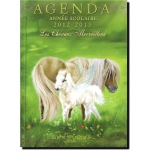 Agenda Scolaire Chevaux Merveilleux 2012-2013 de Sandrine Gestin
