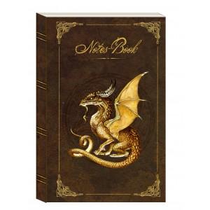 Carnet Dragon Or de Séverine Pineaux