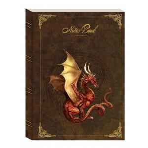 Carnet Dragon Rouge de Séverine Pineaux