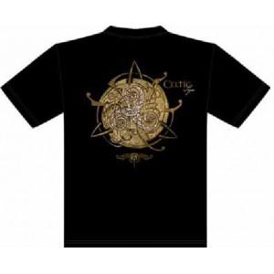 T-Shirt Triskell Or de Sandrine Gestin