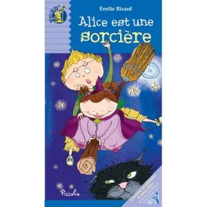 Alice est une sorcière, livre illustré de Emilie Rivard