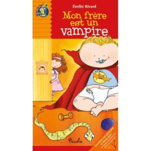 Mon frère est un vampire, livre illustré de Emilie Rivard