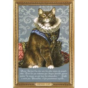 Henri Cat, Carte postale de Séverine Pineaux - Les Histochats