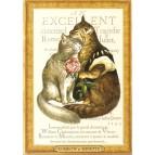 Romeow et Minette, Carte postale de Séverine Pineaux – Les Histochats