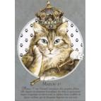 Matou 1er, Carte postale de Séverine Pineaux – Les Histochats