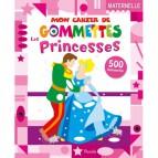Mon cahier de gommettes: les Princesses, un livre d'activité dès 3 ans