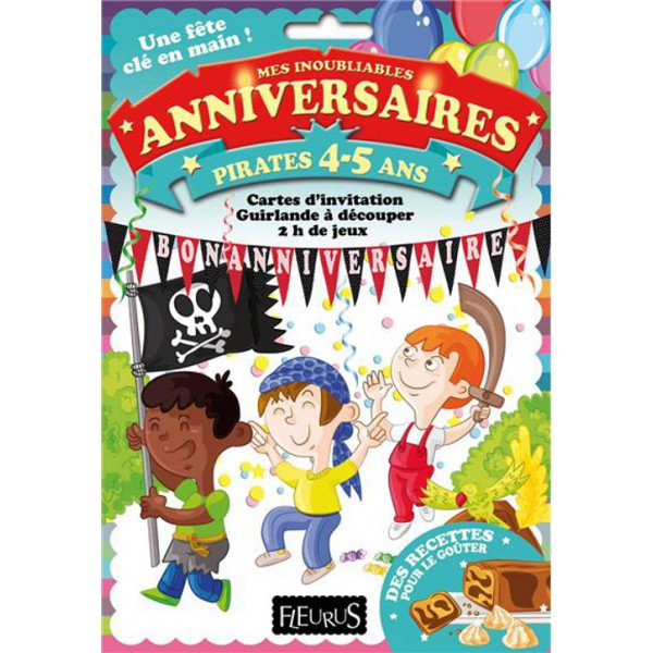 livre jeu d 39 aventures de s d sormi re anniversaire pirates 4 5 ans. Black Bedroom Furniture Sets. Home Design Ideas