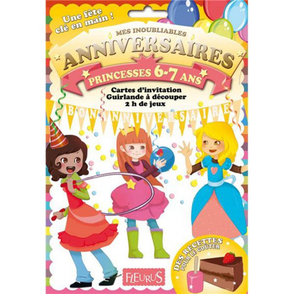 livre jeux f erique de s d sormi re anniversaire princesses 6 7 ans. Black Bedroom Furniture Sets. Home Design Ideas