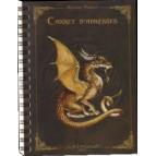 Carnet d'adresses Dragon de Séverine Pineaux, un répertoire original tiré de Dragons petit traité