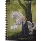 Carnet d'adresses Dame à la licorne de Sandrine Gestin, un répertoire original des Dames de Brocéliande